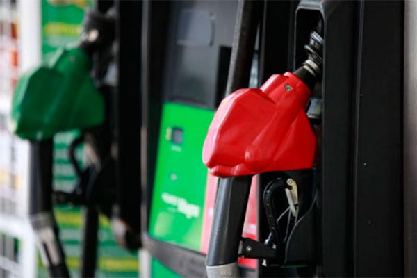 Gasolina llega al tope