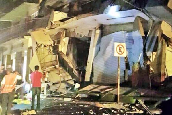 Registran el sismo más fuerte del País.
