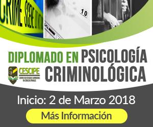 Cescipe: Diplomado en Psicologia Criminologica