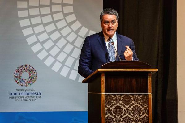 Una guerra comercial total tumbaría el 17% del comercio mundial: OMC