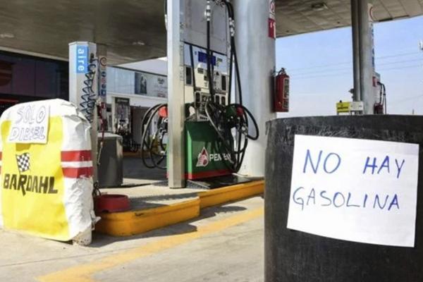 México, con combustible para tres días.