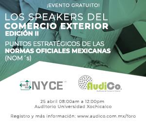 Audico: Los speakers del comercio exterior.