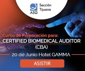 ASQ:  Certificacion Biomedico
