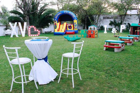 Autorizan apertura de jardines para fiestas.